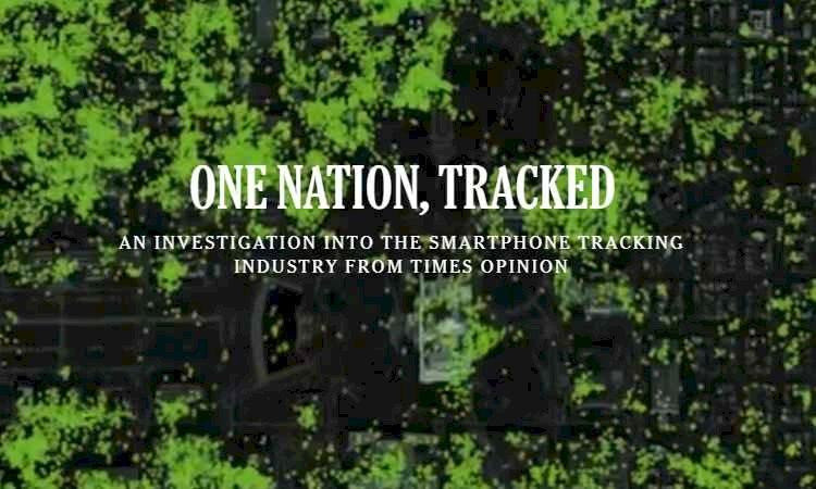 Um escândalo! Bilhões de dados de rastreio