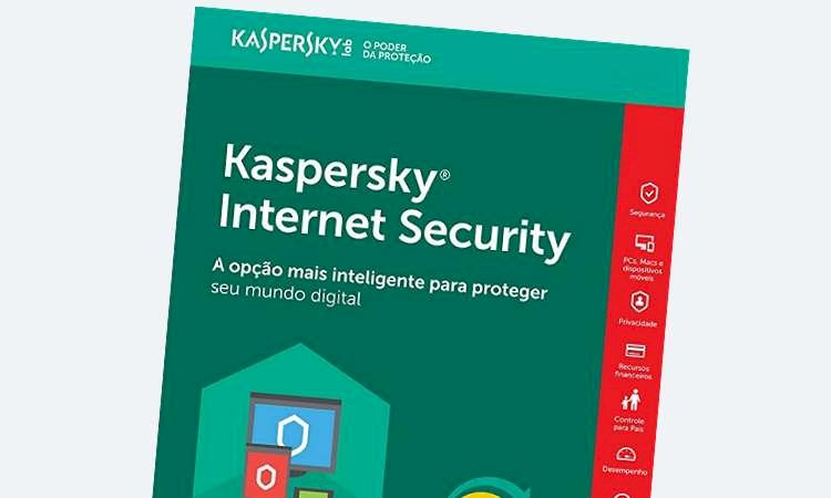 Internet Security e Antivírus Kaspersky para PC a partir de R$ 18,00