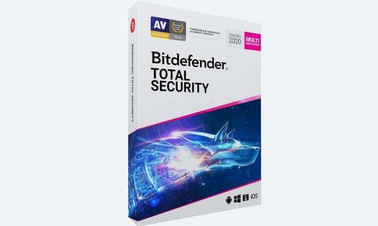 Bit Defender Total Security 5 Dispositivos - R$ 37,00