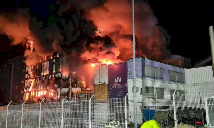 Incêndio na OVH de Estrasburgo, França