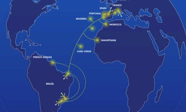 Ligação entre Brasil e Portugal é finalizada pela EllaLink